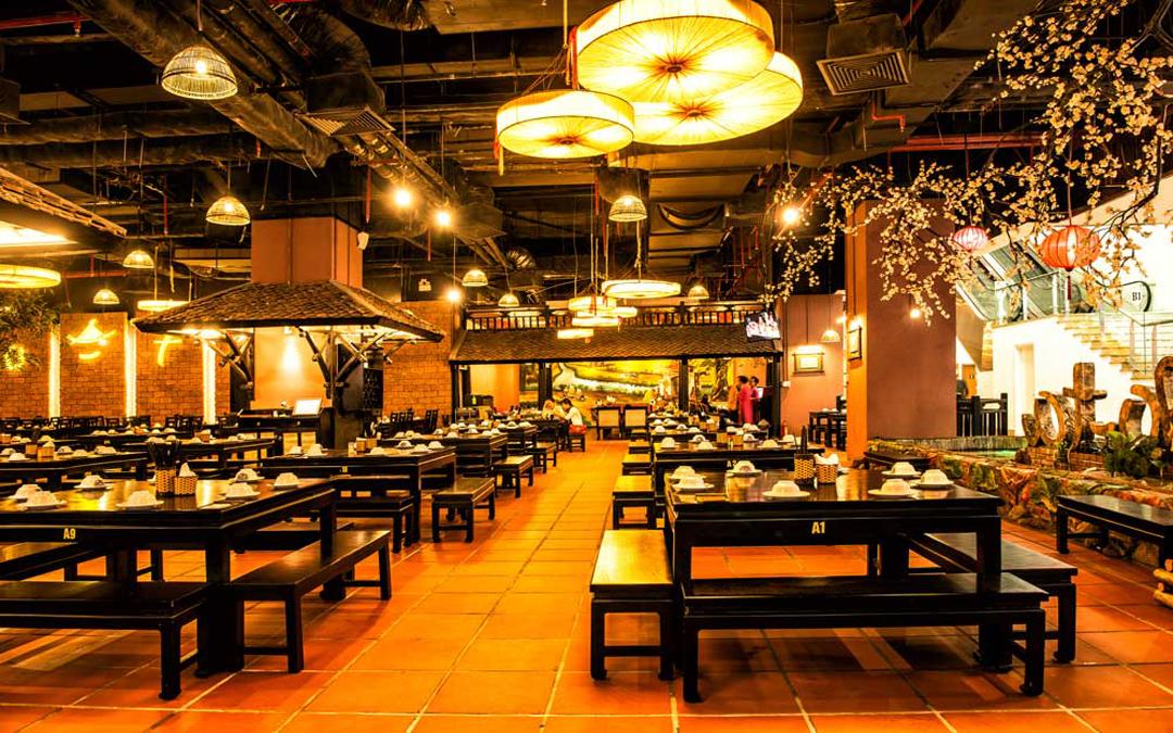 Mẫu website nhà hàng đẹp chuẩn SEO – GT02