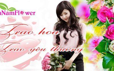 Mẫu website bán hoa online đẹp chuẩn SEO