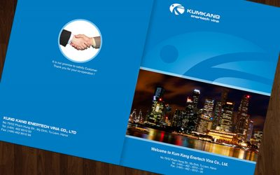 Mẫu website giới thiệu công ty chuẩn SEO