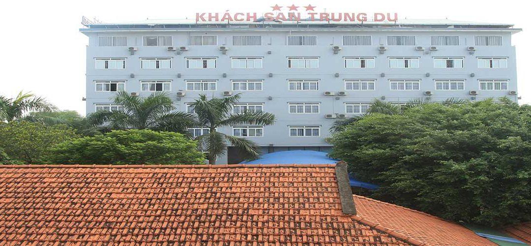 Thiết kế website khách sạn Trung Du