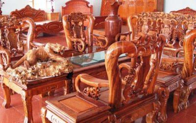Mẫu website bán đồ gỗ