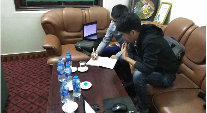 Anh Tạ Văn Khoa - P.GĐ công ty hướng dẫn Học viên phần SEO website