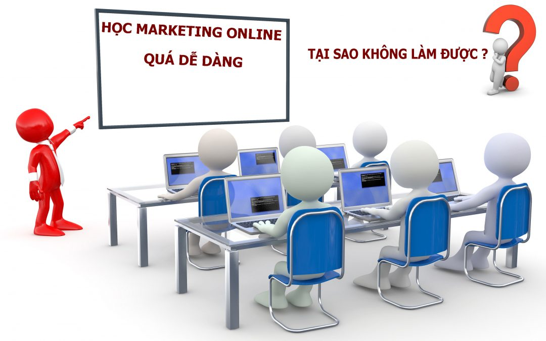 Tổ chức khóa học K1 về Marketing Online