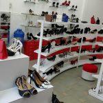 Mẫu website shop bán giày dép, phụ kiện thời trang
