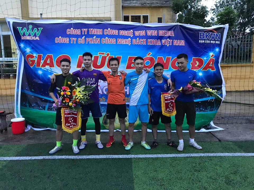 Các cầu thủ của công ty TNHH Công Nghệ Win Win Media