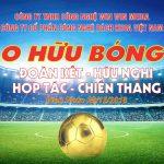 Giao hữu bóng đá giữa Win Win Media và Bách Khoa Việt Nam