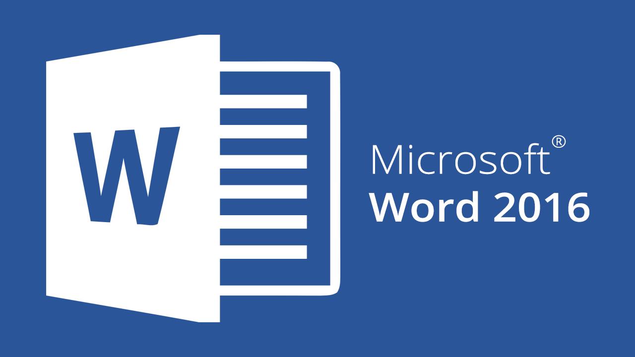 Khóa học Word 2016