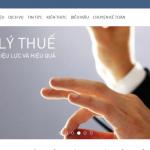Mẫu website Công Ty đại lý thuế