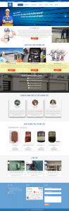 Mẫu website lĩnh vực cửa cuốn TPHCM