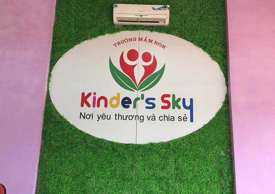 Tư vấn thiết kế website trường mầm non Kinder's Sky