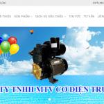 Thiết kế web máy bơm nước Trung Tính