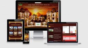 Mẫu website kiến trúc xây dựng view 2