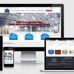 Mẫu website thiết kế thi công nhà xưởng view 2