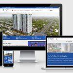 Mẫu website bất động sản siêu đẹp
