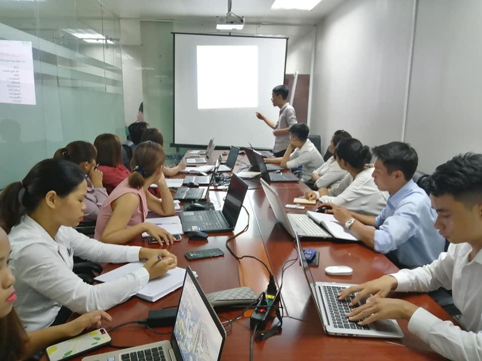 Toàn ảnh buổi đào tạo Marketing online bất động sản tại Vĩnh Phúc