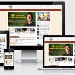 Mẫu website xây dựng thương hiệu cá nhân