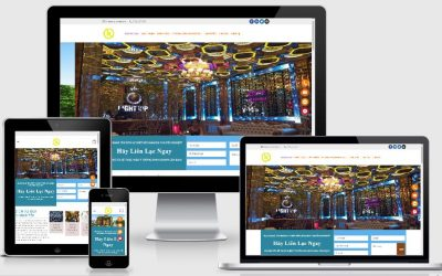 Mẫu web thiết kế Karaoke chuẩn SEO