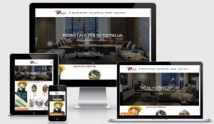 Mẫu web thiết kế kiến trúc tại Hà Nội