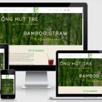 Thiết kế website ống hút tre