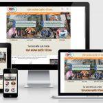 Thiết kế web du học – Xuất khẩu lao động tập đoàn quốc tế DFA