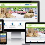 Thiết kế web pallet Minh Công