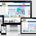 Thiết kế mẫu web bán văn phòng phẩm