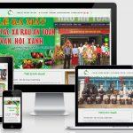 Thiết kế web Vân hội xanh