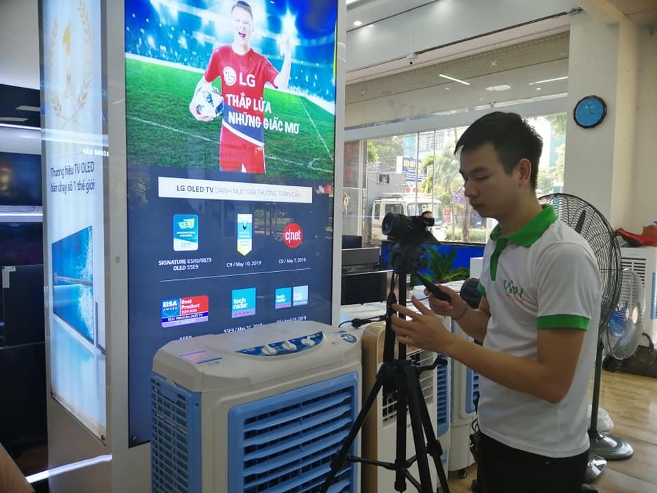 Dịch vụ xây dựng video Marketing cho Điện Máy Tâm Hiền