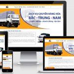 Mẫu web dịch vụ vận tải