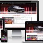 Mẫu web bán ô tô Vinfast Vĩnh Phúc