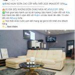 Quảng cáo Facebook nội thất ANDO Vĩnh Phúc