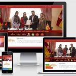 Thiết kế web bán sản phẩm chuẩn SEO saffrontaya.com.vn