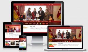 Thiết kế web saffrontaya.com.vn