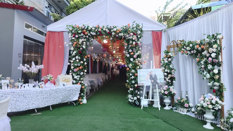 thuê phông bạt tổ chức sự kiện tại Vĩnh Phúc