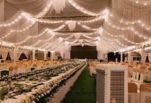 Thuê phông bạt tổ chức sự kiện cưới hỏi tại TP Vĩnh Yên