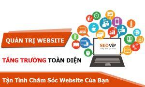 Dịch vụ quản trị nội dung (Chăm sóc) web tại Hải Dương