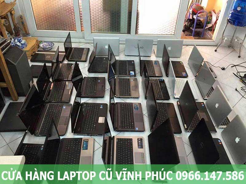 Cửa hàng laptop cũ uy tín tại Vĩnh Phúc