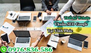 Thiết kế website chuẩn Seo Vĩnh Phúc