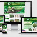 Thiết kế website kinh doanh cây giống Tam Đảo