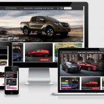 Thiết kế website kinh doanh ô tô Mazda Vĩnh Phúc