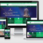 Thiết kế website bất động sản Vĩnh Phúc