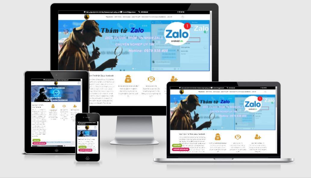 Thiết kế website thám tử