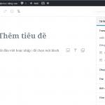 Đưa trình soạn thảo WordPress về phiên bản cũ không dùng plugin