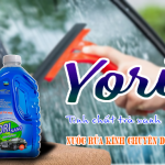 Xây dựng marketing thương hiệu nước rửa xe Yori Việt Nam