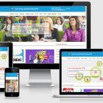 Share full code web trung tâm ngoại ngữ