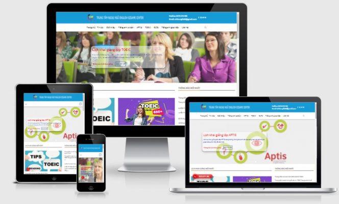 Share full code web trung ngoại ngữ