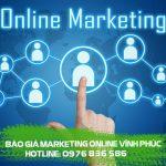 Dịch vụ Marketing Online trọn gói tại Vĩnh Phúc