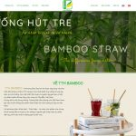 Share full code web Ống hút tre
