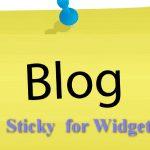 Tạo Sticky widget trượt khi cuộn trang trên WordPress