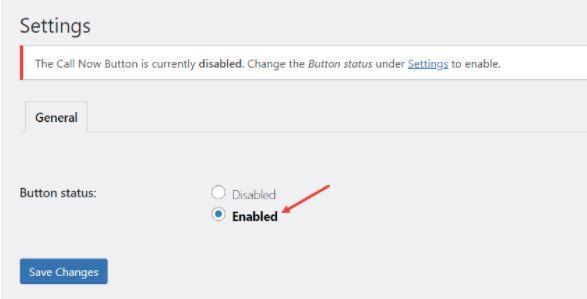 Tạo nút call now trong WordPress từ plugin Call Now Button